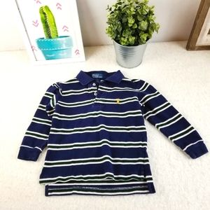 Polo by Ralph Lauren - Long Sleeve Polo - 3/3T